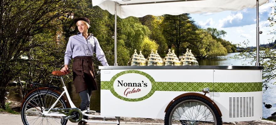 Nonna's Gelato cykeln - glass på riktigt, enligt italiensk hantverkstradition