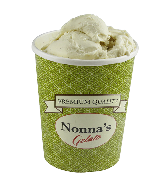vanilj gelato (Nonnas Gelato)
